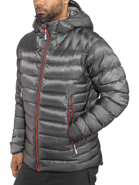 Rab Electron Jacket Men Graphene/Zinc